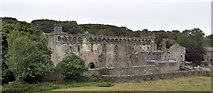 SM7525 : The Bishop's Palace, St. David's by PAUL FARMER
