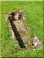 SO8090 : Sarcophagus in Boddington churchyard by Philip Halling
