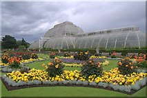 TQ1876 : The palm house at the Royal Botanic Gardens, Kew by Mike Pennington