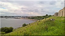 NZ3668 : Mouth of River Tyne looking from Tynemouth......... by Chris Morgan