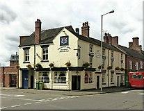 SJ9223 : Shrewsbury Arms, Eastgate, Stafford by Alan Murray-Rust