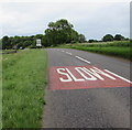 ST9998 : SLOW on the A429 northeast of Kemble by Jaggery