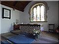 NU1019 : St Maurice, Eglingham - altar by Stephen Craven