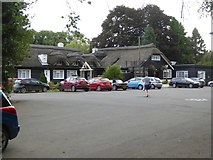 SS9307 : Car park of Fisherman's Cot, Bickleigh by David Smith
