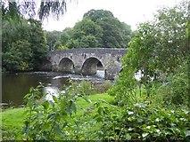 SS9307 : Bickleigh Bridge over River Exe by David Smith