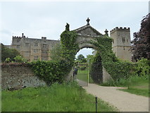 SP2429 : Chastleton House, church and gateway by Chris Allen
