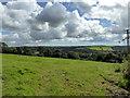 SN0617 : View from Lane near Llawhaden by PAUL FARMER