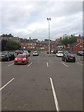 SJ2207 : Welshpool car park by Dave Thompson