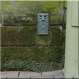 SJ9223 : Flush bracket bench mark, Borough Hall, Stafford by Alan Murray-Rust