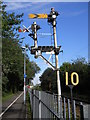 TL1898 : Semaphore signal on the Nene Valley Railway by Paul Bryan