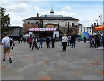 SK5804 : New Market Square in Leicester by Mat Fascione
