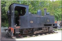 SJ6903 : Blists Hill Victorian Town - steam locomotive by Chris Allen