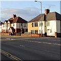 ST3090 : Malpas Road semis, Malpas, Newport by Jaggery