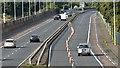 J3775 : Cones, Sydenham bypass, Belfast (August 2017) by Albert Bridge