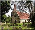 TQ7618 : St Mary Magdalen parish church, Whatlington by Patrick Roper