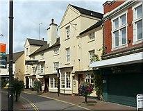 SJ9223 : The Vine Hotel, Salter Street, Stafford by Alan Murray-Rust