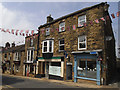 SE1565 : Pateley Bridge High Street shops by Stephen Craven