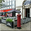 SJ9223 : Penfold replica pillar box, Market Square, Stafford by Alan Murray-Rust