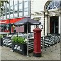 SJ9223 : Penfold replica pillar box, Market Square, Stafford by Alan Murray-Rust