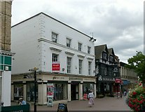 SJ9223 : Greenwoods and the Bear Grill, Greengate Street, Stafford by Alan Murray-Rust