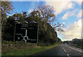 SH5065 : Approaching roundabout south of Y Felinheli by John Firth