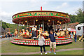 SJ6903 : Blists Hill Victorian Town - gallopers by Chris Allen
