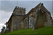 SY5697 : Toller Porcorum : St Andrew & St Peter Church by Lewis Clarke