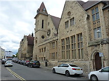 SO9422 : Cheltenham Ladies' College - Montpellier St frontage by Richard Law
