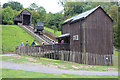 SJ6903 : Blists Hill inclined lift by Chris Allen