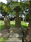 SD7336 : St Mary & All Saints, Whalley: churchyard (f) by Basher Eyre
