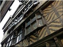 SJ9223 : Ancient High House, Stafford by Alan Murray-Rust