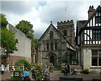 SJ9223 : St Chad's Church, Stafford by Alan Murray-Rust