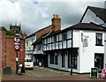 SJ9223 : 10 Church Lane and 35 Mill Street, Stafford by Alan Murray-Rust