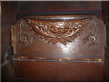 SD7336 : St Mary & All Saints, Whalley: misericord carving (iv) by Basher Eyre
