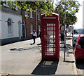 SY4692 : K6 phonebox, South Street, Bridport by Jaggery