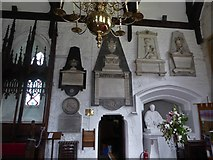 SD7336 : St Mary & All Saints, Whalley: memorials (VI) by Basher Eyre