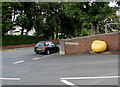 SO1911 : Yellow grit box on a Brynmawr corner by Jaggery