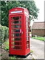 TM3893 : K6 telephone box at Well Terrace by Evelyn Simak