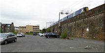 NS4864 : Lawn Street car park by Thomas Nugent