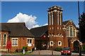 TQ2994 : Southgate Methodist Church, The Bourne by Christopher Hilton