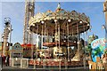 SJ3390 : Fairground roundabout by Richard Hoare