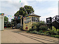 SU7585 : Signal Box at Fawley Hill by Paul Gillett