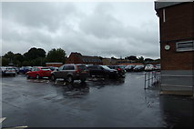 TL1314 : Sainsbury's Car Park, Harpenden by Adrian Cable