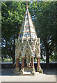 TQ3079 : Buxton Memorial Fountain, Victoria Tower Gardens by Julian Osley