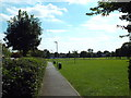 TQ5586 : Upminster Park by Malc McDonald