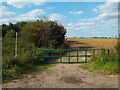 TQ5985 : Footpath at North Ockendon by Malc McDonald