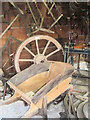 SP9315 : In the Wheelwright's Workshop at Pitstone Green Museum by Chris Reynolds