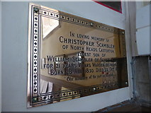 SD6279 : Holy Trinity, Casterton: Scambler family memorial by Basher Eyre