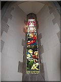 SD6279 : Holy Trinity, Casterton: stained glass window (IX) by Basher Eyre