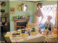 SP9315 : The 1940s Room at Pitstone Green Museum by Chris Reynolds